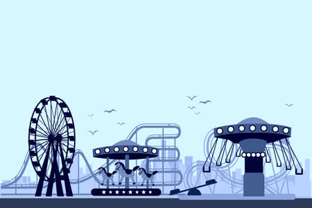 The Amusement Park vector for your ideas