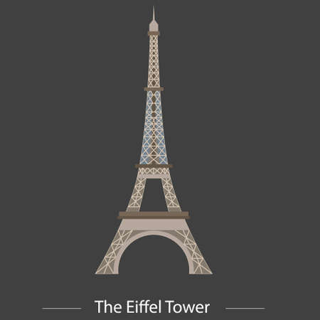 De Eiffeltoren vector voor uw ideeën Stockfoto