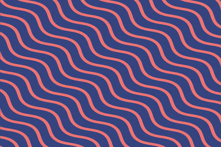 Concept of Colourful lines pattern in cute trendy style