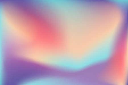 Trendy Holographic Background full Vector Illustration EPS10 Banco de Imagens - 126857076