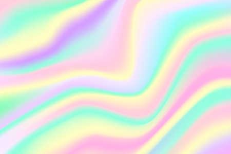Trendy Holographic Background full Vector Illustration EPS10 Ilustração