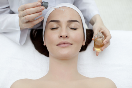 beatiful: Young beatiful Woman receiving healty spa treatment
