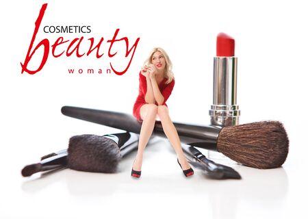 tempt: Beauty Salon. Concept Stock Photo