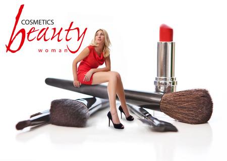 perfumery concept: Beauty Salon. Concept Stock Photo