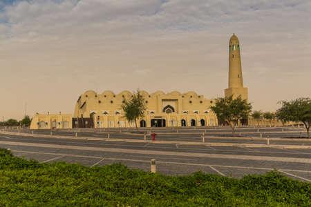 Doha, カタールの国立モスクのほとんど