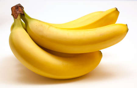 ripe: Bunch of Ripe Bananas Stock Photo