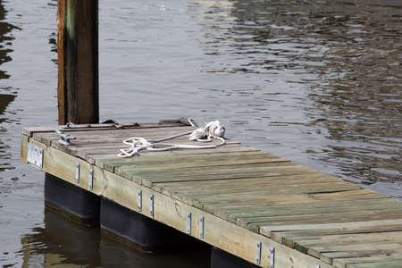 Boat dock for a single boat