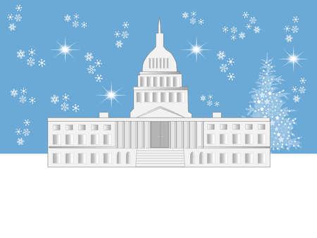 ワシントン DC の休日のシーン 写真素材 - 5913904