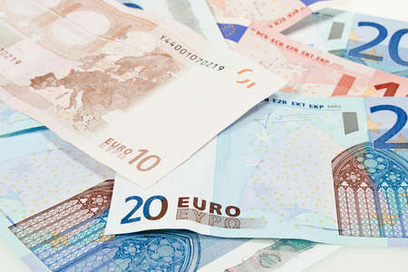 eurozone: Closeup shoot of Eurozone bills
