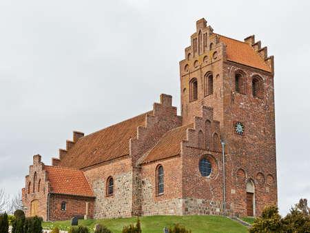 Kregme-kerk in Frederiksværk, Denemarken wordt gevestigd dat