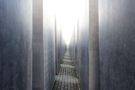 murdered: Memorial to the Murdered Jews of Europe located in Berlin, Germany Editorial