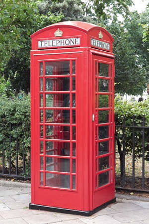 gilbert: Red telephone box in London the capital of Great Britain