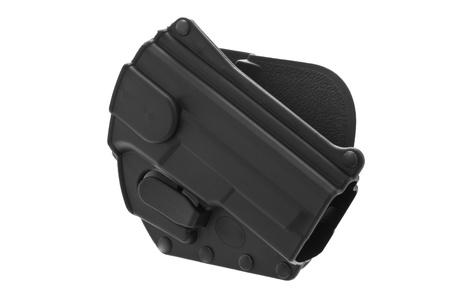 holster: Empty polymer Holster for 9mm
