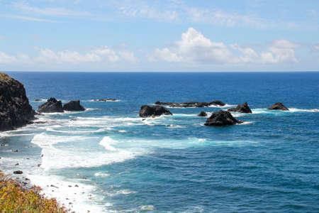 View at the Atlantic from puerto naos beach 版權商用圖片