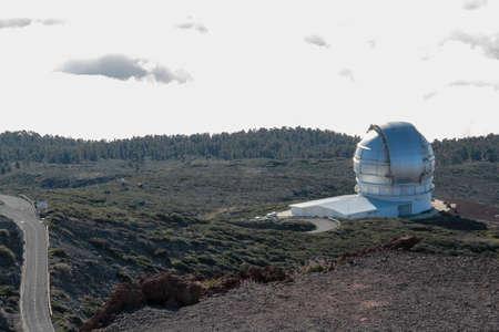 Roque de los Muchachos Observatory 版權商用圖片