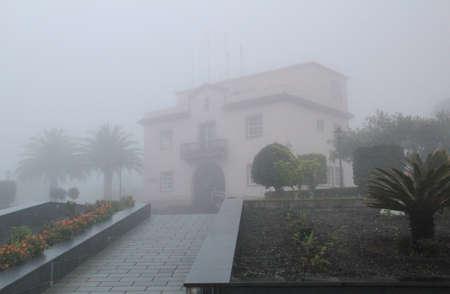 town hall from Barlovento on la palma