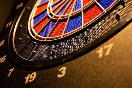 electronic dart with different numbers