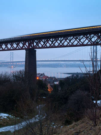Firth of Forth train photo