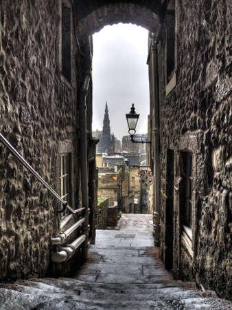 Edinburgh close