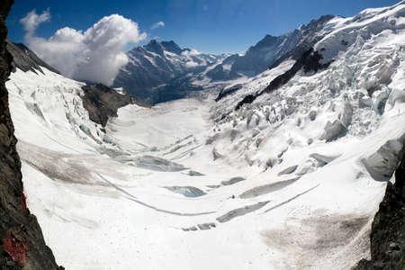 eiger: Eiger glacier panorama