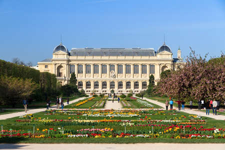 natural history museum: The French National Museum of Natural History Museum national dhistoire naturelle in the Jardin des plantes in Paris, France Editorial