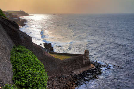 cristobal: The Devil s Guerite sentry box at Fort San Cristobal in San Juan, Puerto Rico