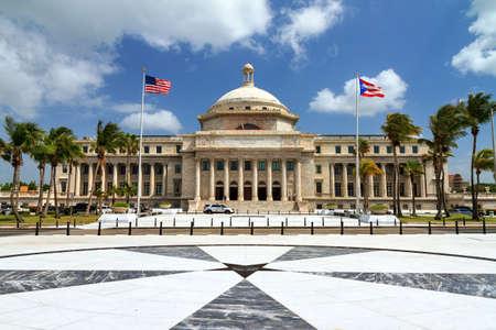 El Capitolio de Puerto Rico (Capitolio de Puerto Rico) en San Juan, Puerto Rico Foto de archivo - 60734556