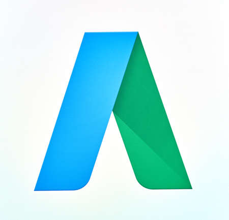 MONTREAL, CANADA - MAY 23, 2016 : Google AdWords logo on a cellphone. AdWords is an advertising service by Google for businesses wanting to display ads on Google Editorial