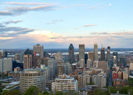 downtime: MONTREAL, CANADA - MAY 27, 2016 : Scenic view of spring downtime Montreal. Editorial