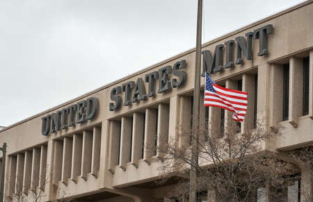 United States Mint building and flag. The United States Mint is a bureau of the Department of the Treasury responsible for producing coinage for the United States