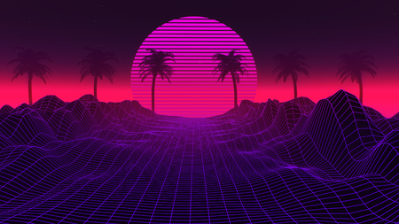 Vaporwave Stock Photos And Images 123rf