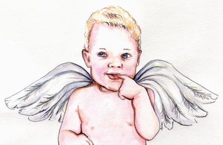 bebe angel: Angel Baby 2