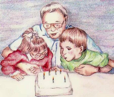candeline compleanno: Candele di compleanno  Vettoriali