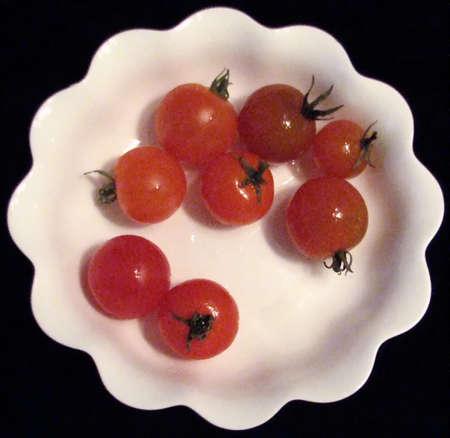 Bowl of Cherry Tomatoes photo