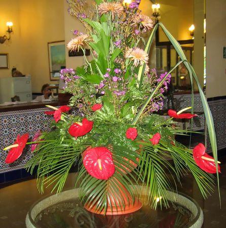 arreglo floral: Arreglo floral  Foto de archivo