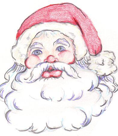 Santa 2 Ilustrace