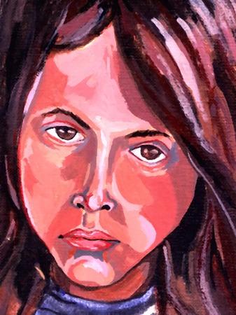 Pintado Chica  Foto de archivo - 2068897