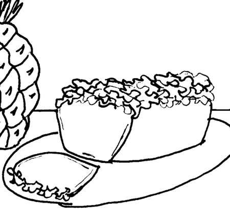 파인애플 빵