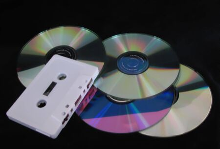 cds: Cassette Tape and CDs