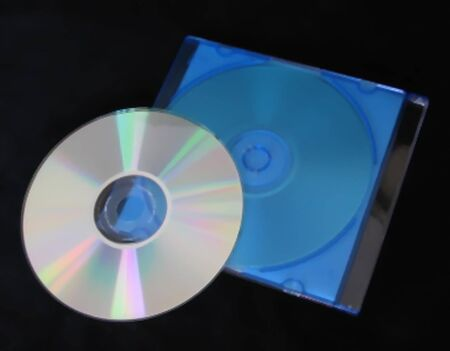 CD and Blue Case
