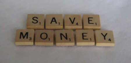 Save Money Zdjęcie Seryjne