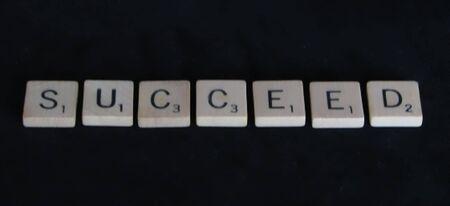 succeed: Succeed Stock Photo