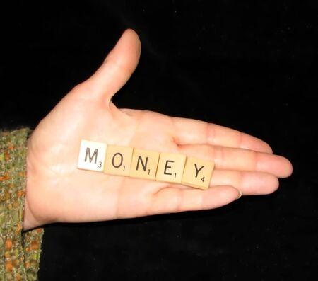money in hand: Money Hand Stock Photo