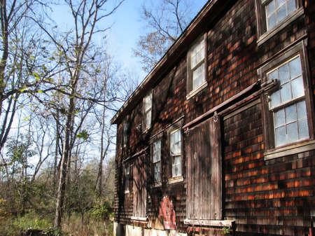 Old Mill Barn Фото со стока