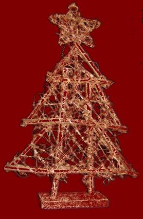 Red Christmas Treet Ilustracja