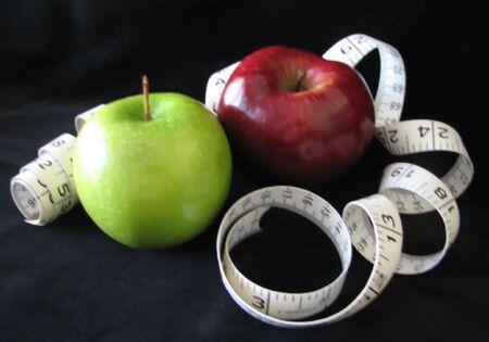 Diet Apples Stock Photo