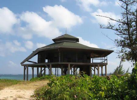stilts: House on Stilts Stock Photo