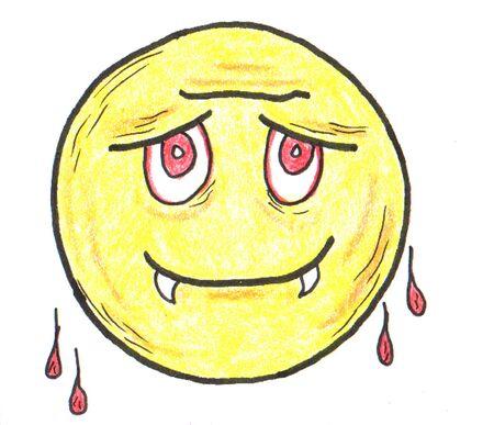 smiley: Smiley Fang Face