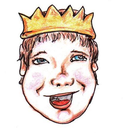 royal person: King