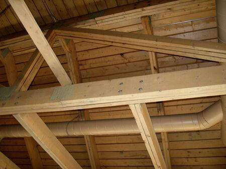 Wooden Beams Stock Photo - 7986090